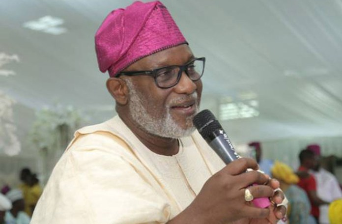 BREAKING: Governor Akeredolu tests positive for COVID-19