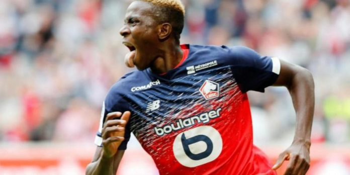 Nigerian Super Eagles and Lille Striker, Victor Osimhen Loses His Dad