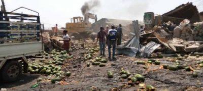 Ikosi-Ketu fruit market demolished for proposed N2.8bn ultra-modern complex