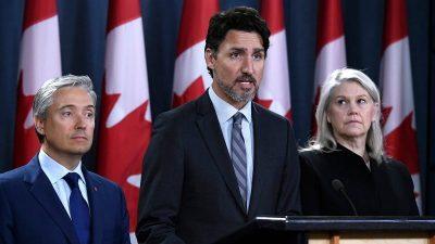 Trudeau also blames Trump for the downed Ukrainian plane