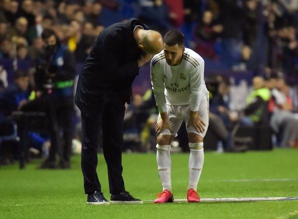 Madrid's double blow at Levante: Hazard out, La Liga lead lost