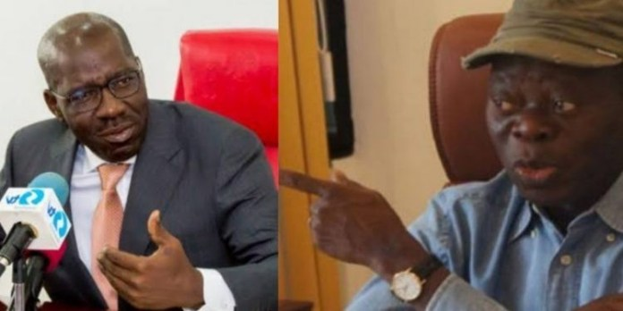 Two South West governors fingered in anti-Oshiomhole survey