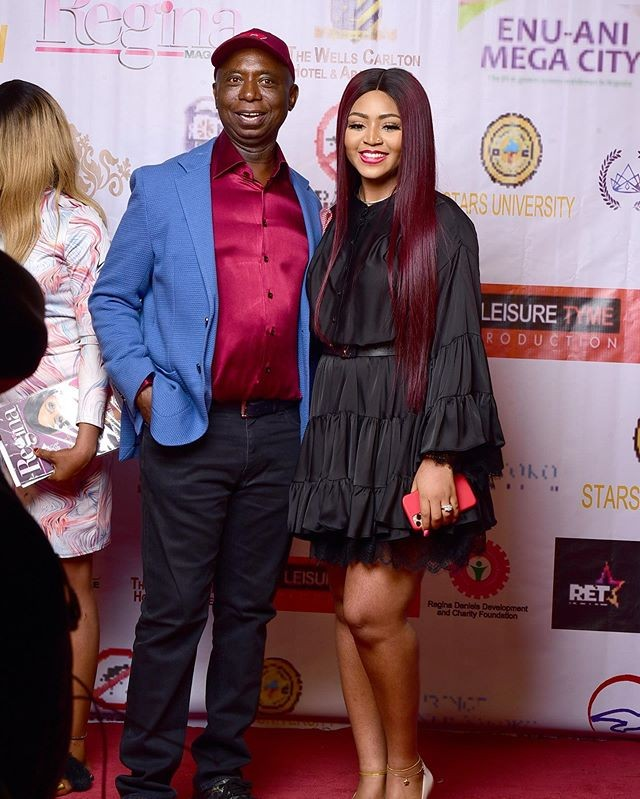 Pictures from Regina Daniels magazine launch
