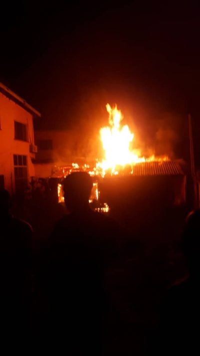 Fire guts a section of Obasanjo's home in Abeokuta
