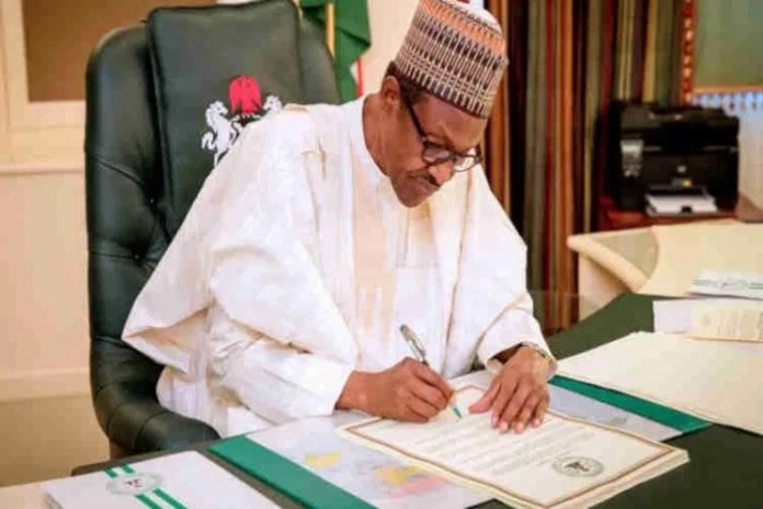 JUST IN: Buhari seeks approval for N147bn refund to Ondo, four other states