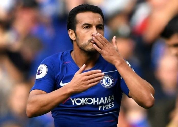 Pedro confirms Chelsea exit