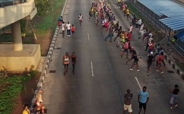 BREAKING: 34 Lagos joggers bag 14-day quarantine
