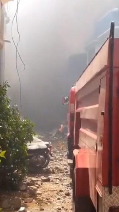 Tragic: Pakistani Plane with 107 aboard crashes on landing