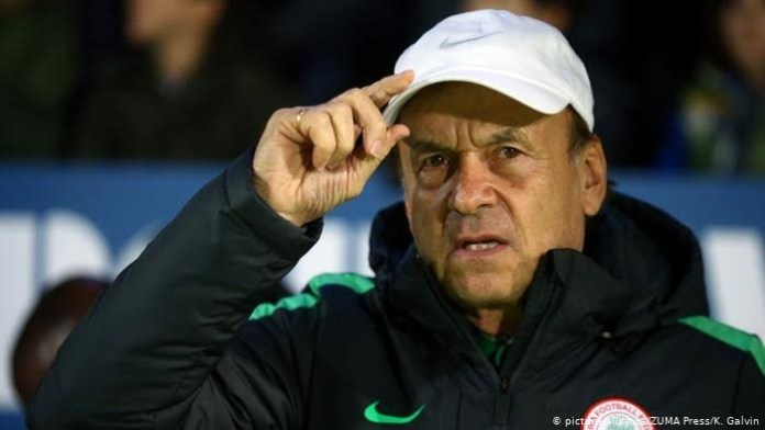 BREAKING: NFF extends Rohr's contract as Super Eagles coach