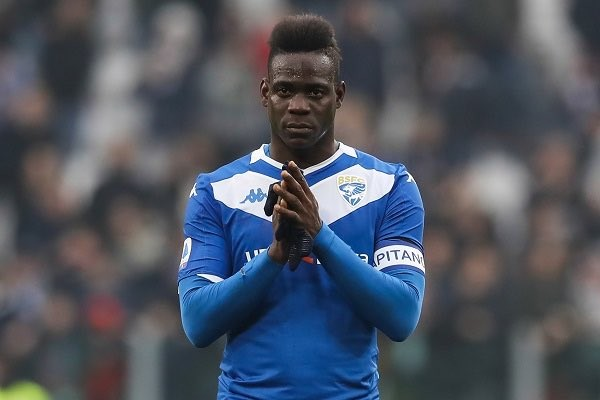 Mario Balotelli sacked by hometown club Brescia