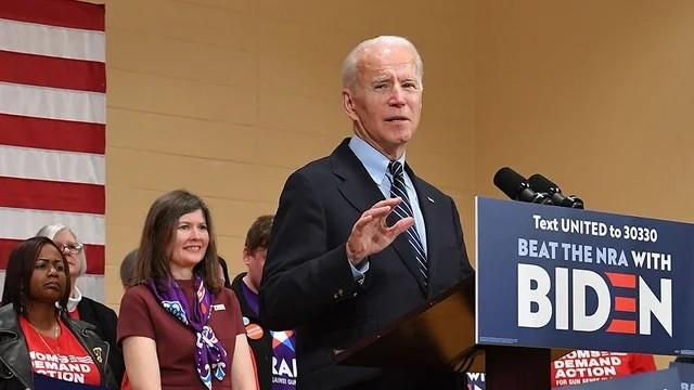 Biden clinches Democratic nomination to face Trump in November