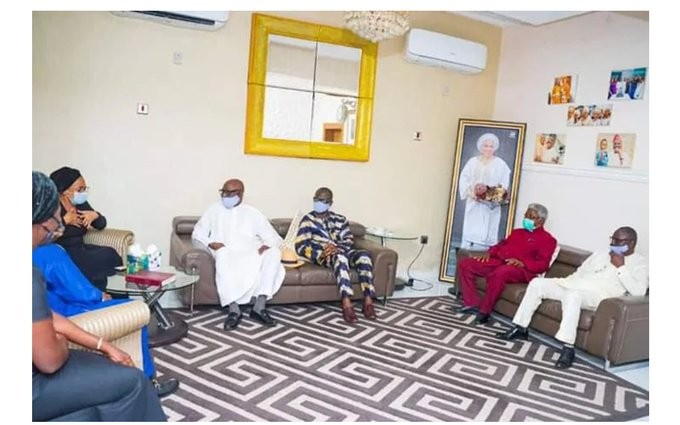 'We weren't expecting Oyo deputy gov' — Ajimobi's family speaks on Fidau prayer incident
