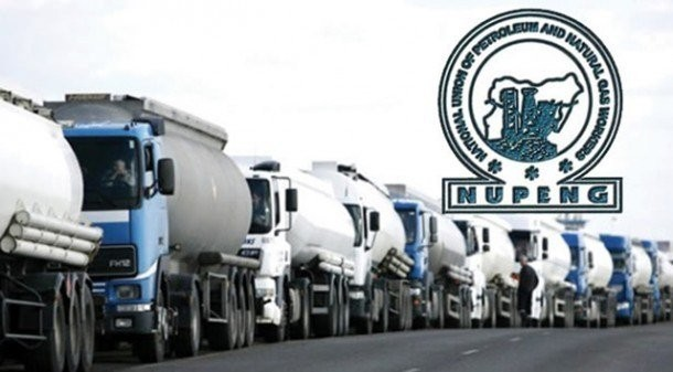 BREAKING: NUPENG orders tanker drivers to withdraw from Lagos
