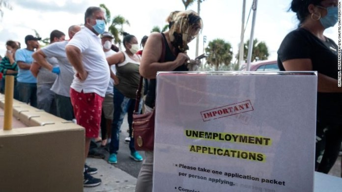 31.3m Americans receive jobless benefits, 1.2m new