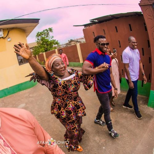 DJ Kaywise buys mother new car as birthday gift (Photos)