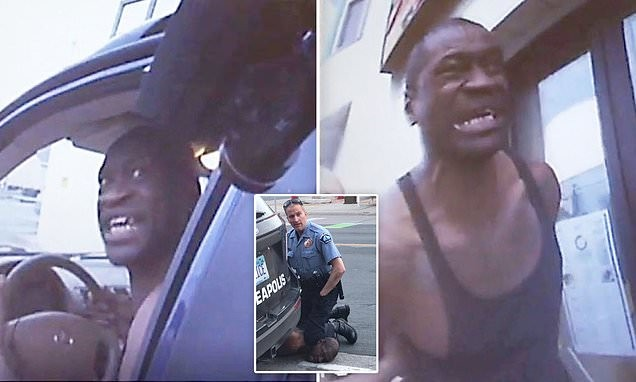 Mixed reactions trail bodycam footage of George Floyd's arrest