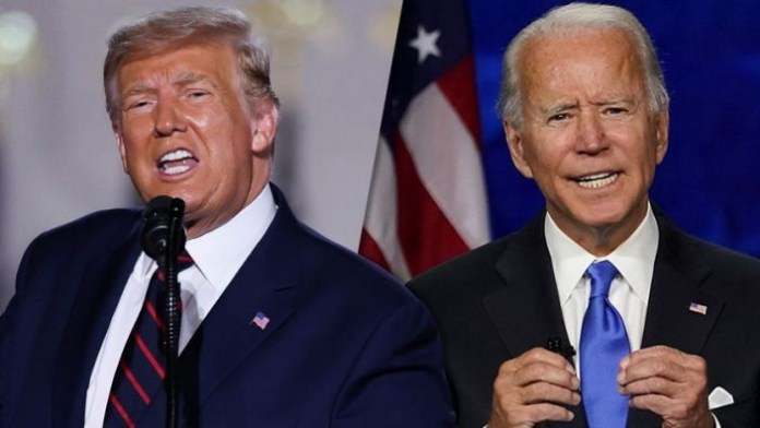 Video: Watch riotous Trump, Biden presidential debate, pick the winner