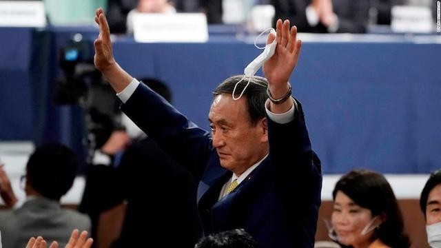 Yoshihide Suga steps in as Japan's 99th prime minister