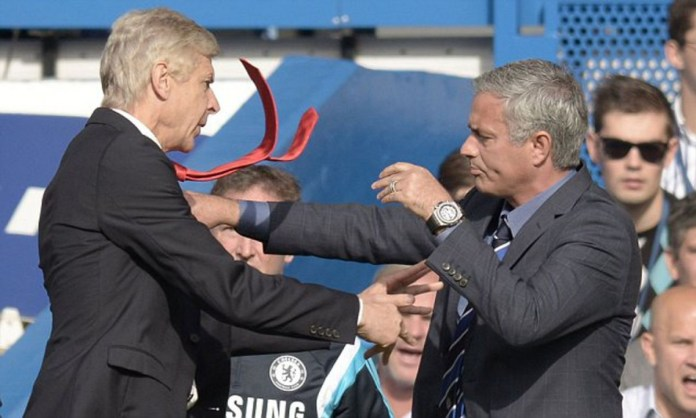 Mourinho shades Arsene Wenger again over his autobiography