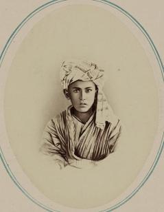 Tipy narodnostei turkestanskago kraia. Tsygane (Mazang). Khaidar-bai