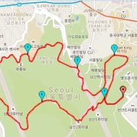 Run day Monday: Namsan