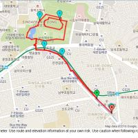 Run day Monday: Sillim-dong and Boramae park