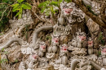 Dragons of Danang - marble mountains