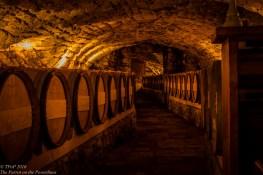 Wine cellars of Tvrdos monastery