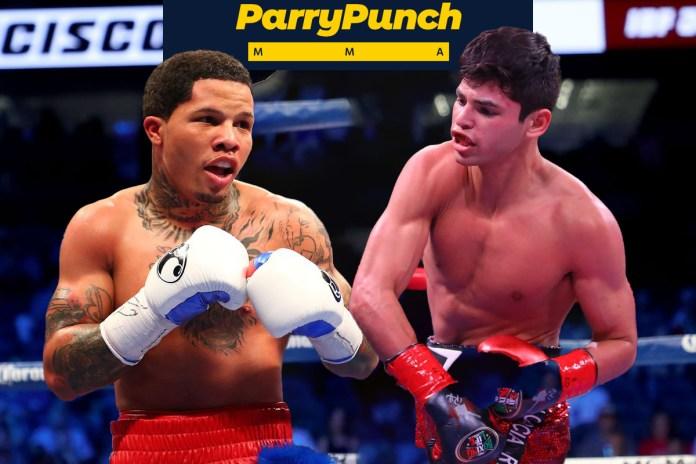 https://www.badlefthook.com/2019/8/5/20755019/ryan-garcia-next-fight-golden-boy-drama-boxing-news , https://www.bloodyelbow.com/2019/2/6/18211867/gervonta-davis-vs-hugo-ruiz-fight-preview-prediction-boxing-breakdown-showtime-pbc