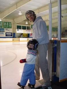 Ice Skating at the Bobby Orr Community Centre