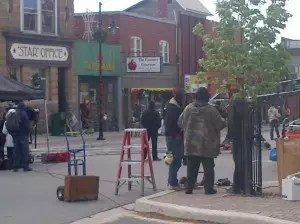 """""""Shelby"""" set downtown Parry Sound"""