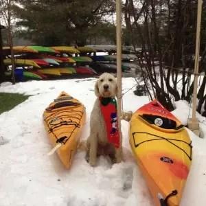 White Squall Charley and kayaks