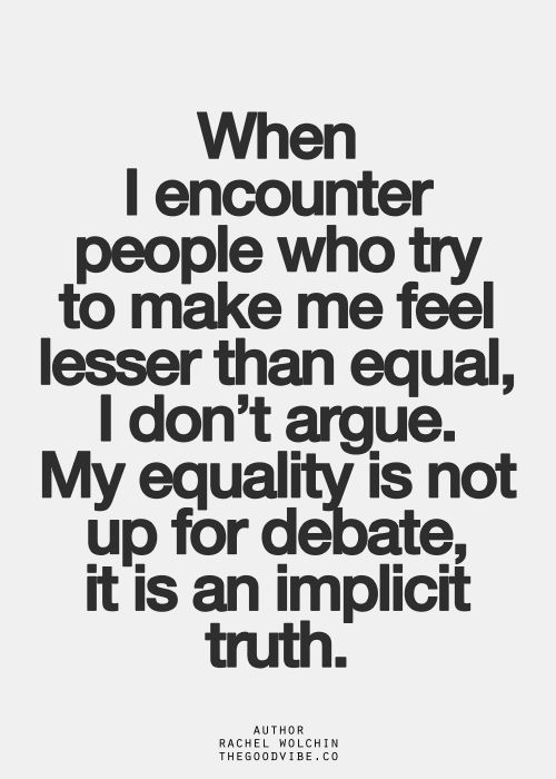 Image result for Quotes about equality