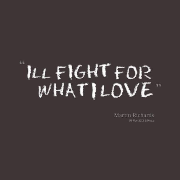 About Quotes Fighting
