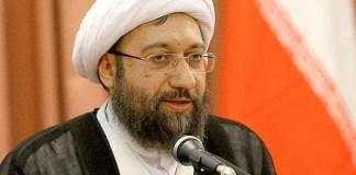 Sadeq Larijani Praised the Exemplary Role of Ali Khamenei in Suppressing Protests in Iran