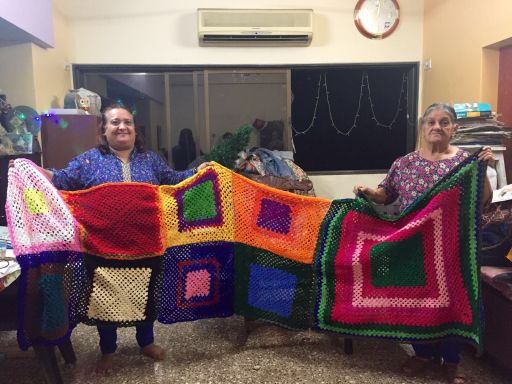 Gover Khushnami and Mahnaz Faroodi