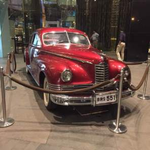 A grand old vintage car.