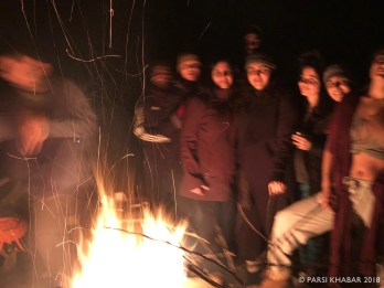 A bonfire to bring in Jamshedi Navroze