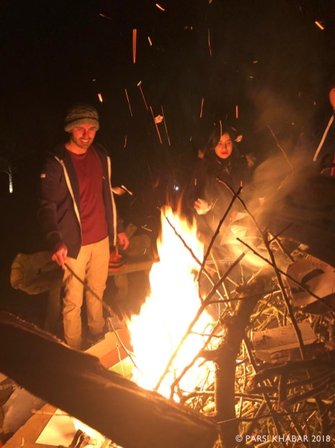 A bonfire to bring in Jamshedi Navroze