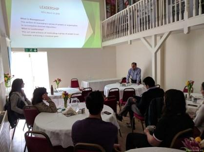 Edul Daver, President WZCC speaking at the Forum