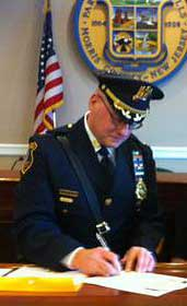 Parsippany-Troy Hills Police Chief Paul Philipps