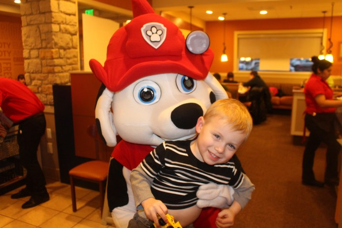 The Paw Patrol Visited Ihop Parsippany Focus
