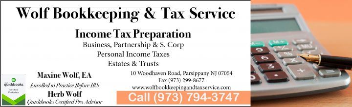 Wolf Bookkeeping