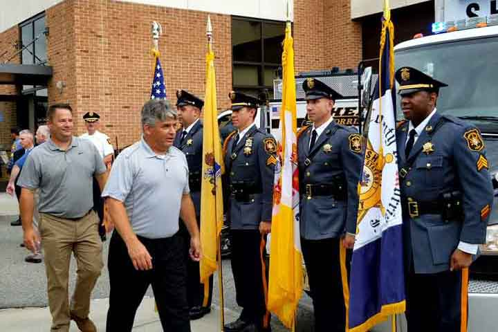 Three Sheriff's Office Superior Officers Retire After Combined 75