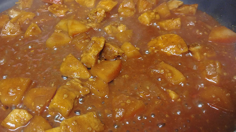 HCG Curry Simmering