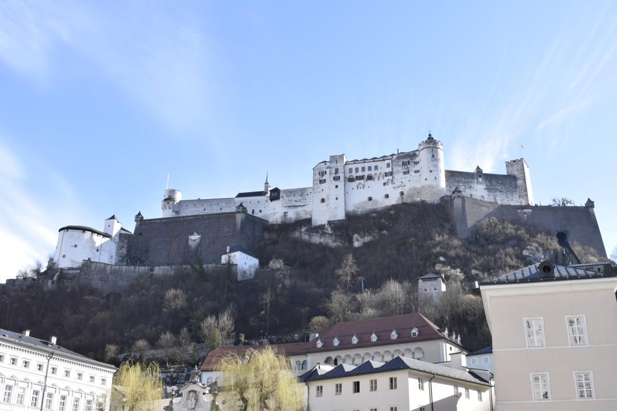 Fortress Hohensalzburg weekend break in Salzburg Austria