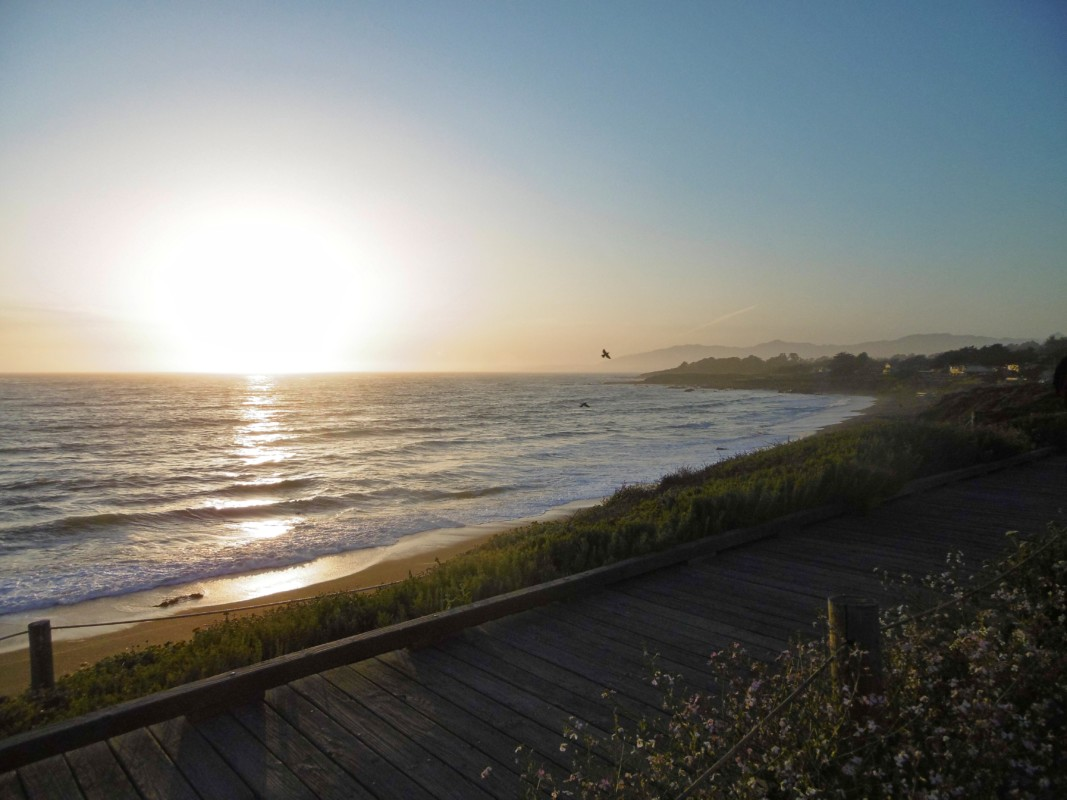 Cambria boardwalk Big Sur California