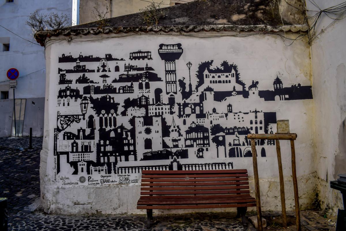 Lisbon street art Mouraria food tour