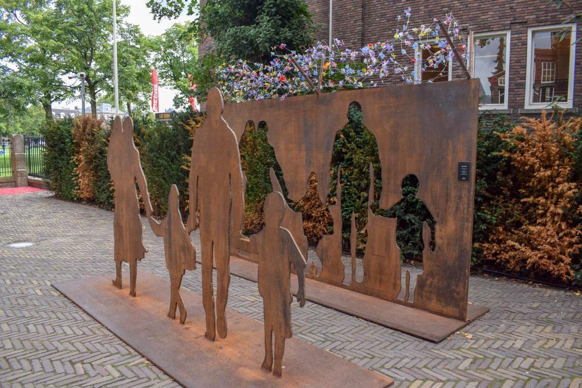 Modern art sculpture Moco Museum Amsterdam