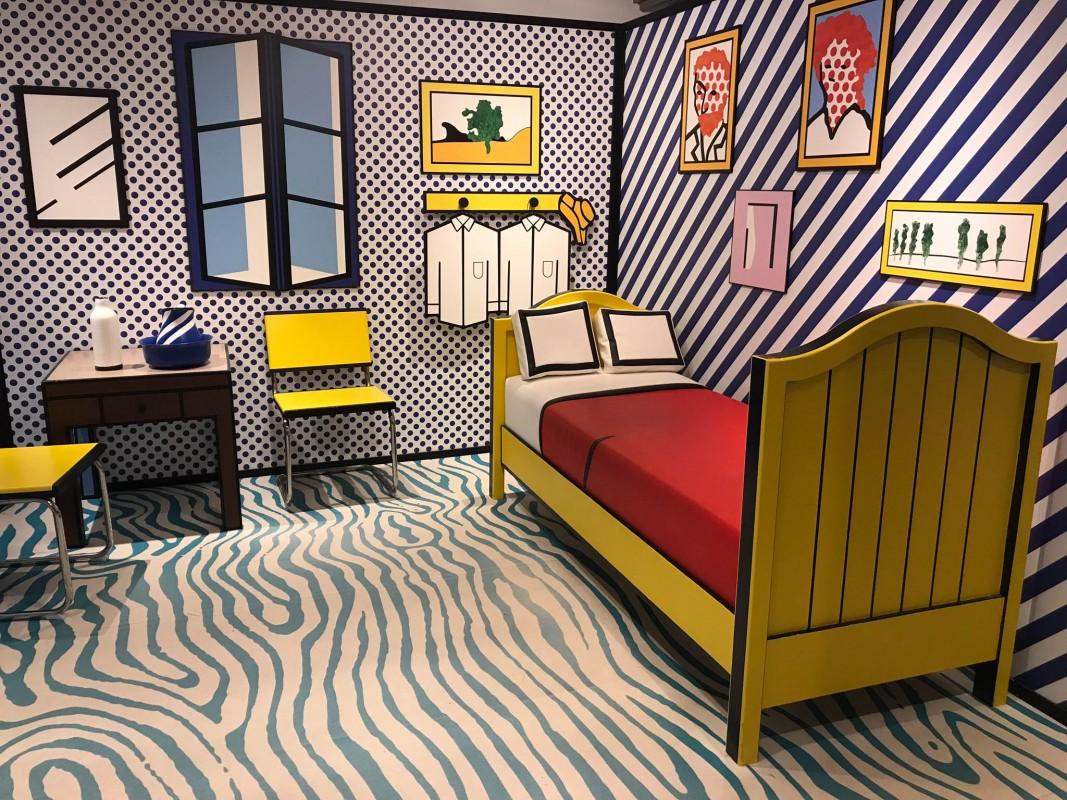 Moco museum Roy Lichtenstein 3D room